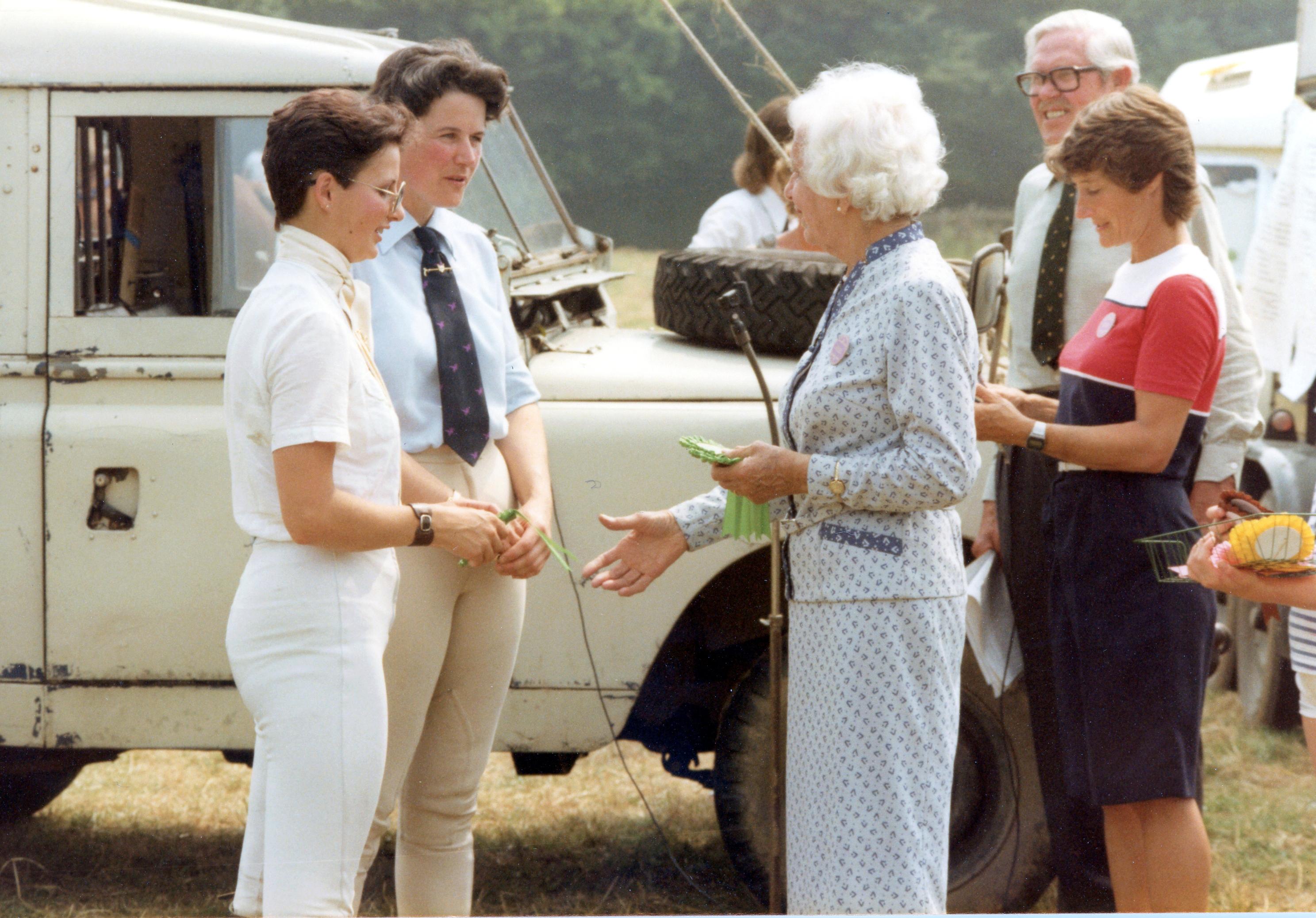1983 Area Dressage